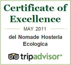 Excellence in the Service of TripAdvisor, a new award from the  Valdes Peninsula Eco Lodge