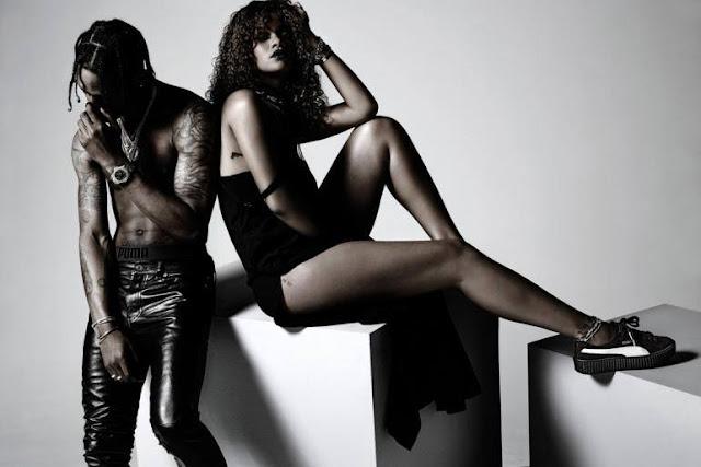 El retraso del álbum de Rihanna, ANTI, es debido a Travis Scott.