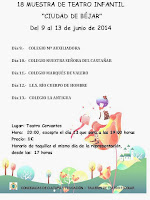 "13(hasta)/Junio. XVIII Muestra de Teatro Infantil ""Ciudad de Béjar"". Béjar"