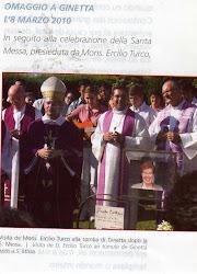 Dom Ercílio Turco, bispo de Osasco, Brasil e Juíz da Causa de Beatificação.