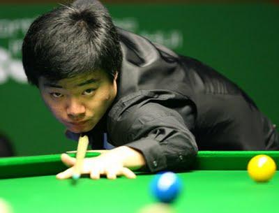 Ding Junhui, il ragazzo cinese campione di biliardo.