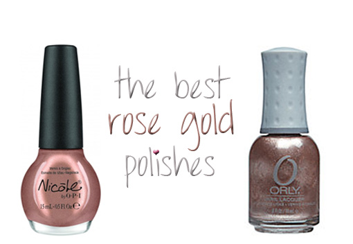 rose gold nail polishes   carly cristman