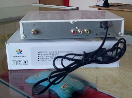 Receiver / Decoder Telkom Vision MPEG4 TM-9000