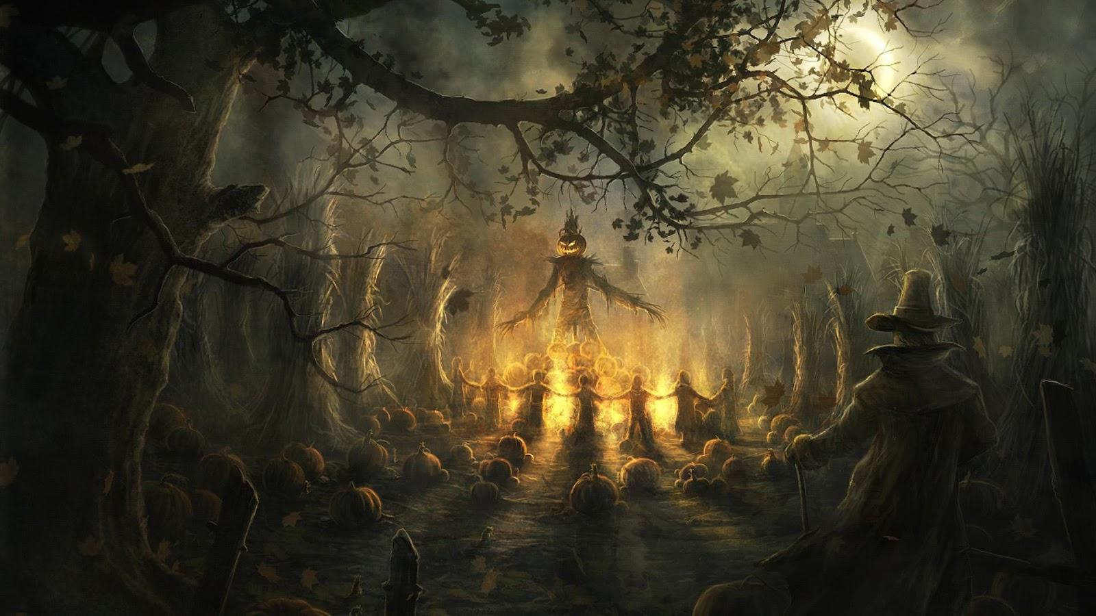 Halloween Scary Dark HD wallpaper for halloween 2014