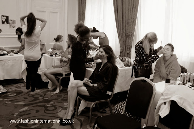 sabina hair mua yunusova, london fashion week, charing cross hotel, models london, makeup, hair stylist, fashion international, backstage