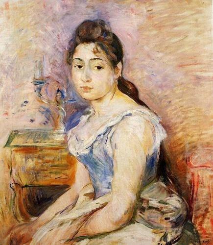 Berthe Morisot 5%2BBerthe%2BMorisot%2B%2528French%2Bartist%252C%2B1841-1895%2529.%2B%2BThe%2BYoung%2BWoman%2Bin%2Ba%2BBlue%2BBlouse