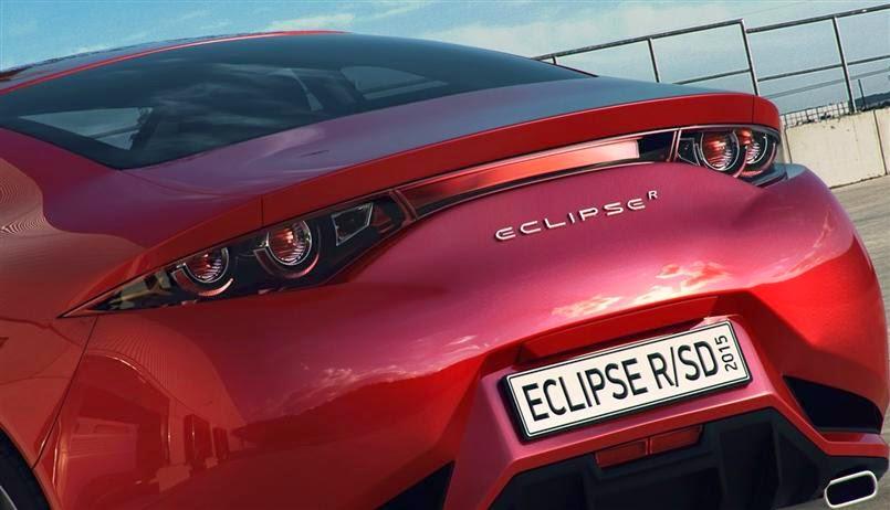 Mitsubishi Eclipse R / SD Concept Futuristic Cars   Otomotif Vehicle
