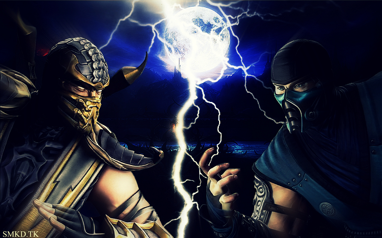 Scorpion Mortal Kombat 9   FOTOS 3D