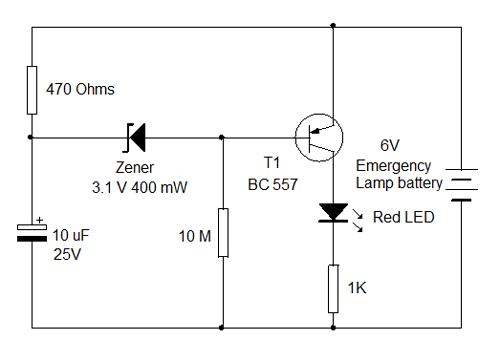 electronica diagramas circuitos  circuito indicador de