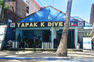Yapak Dive Center, Station 3 Boracay