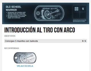 """Misión 1: Introducción al tiro con arco (Chapa """"Vieja Escuela"""")"""