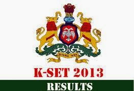 KSET Results 2013 Karnataka SET 2013 Results