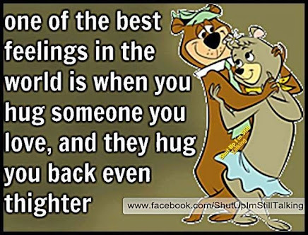 There's nothing better than HUGS.