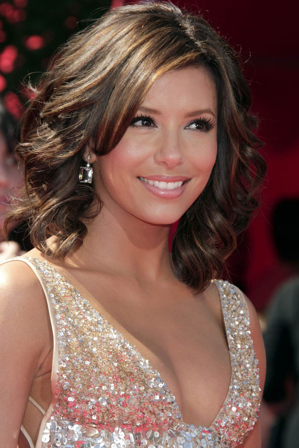 Eva Longoria Medium Hairstyles
