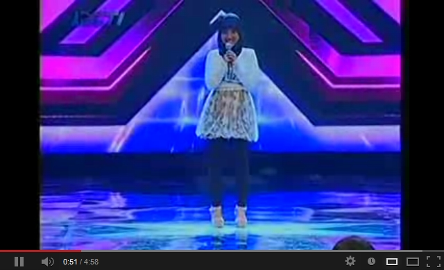 Pumped Up Kicks - Fatin Shidqia Lubis (X Factor Indonesia)
