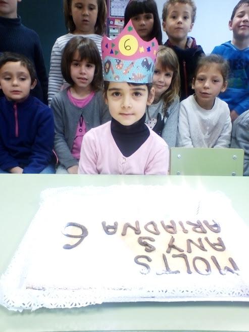 N'Ariadna ja té 6 anys!!