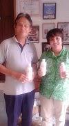 Meeting dengan Owner Peternakan Kambing Perah tgl 10 Januari 2014