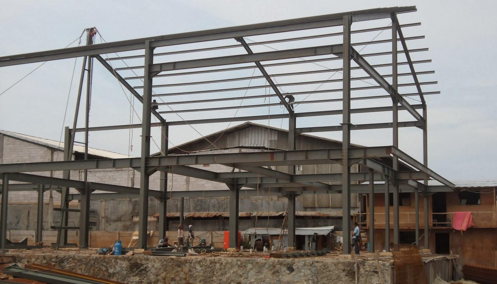 konstruksi baja palembang rangka baja ringan palembang