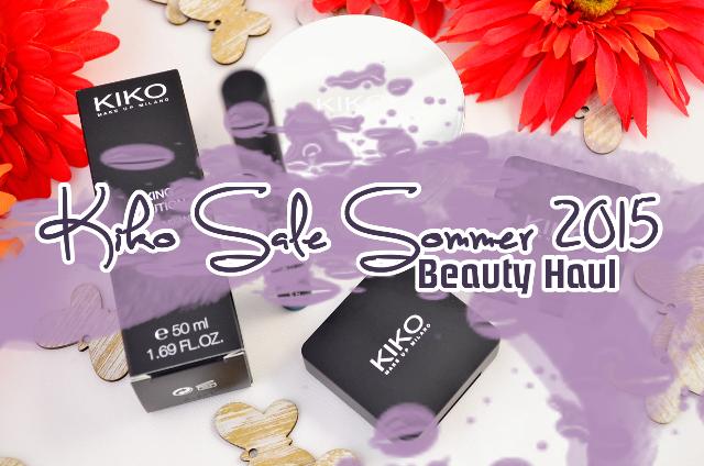 Kiko Summer Sale 2015 Beauty Haul