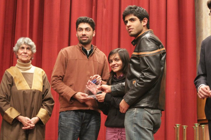 In the Urdu Parliamentary debates, the Lahore School finished as runners up