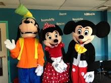 Goofy Minnie and Mickey
