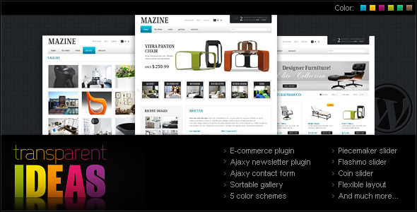 Mazine E-Commerce Wordpress Theme Free Download by ThemeForest.