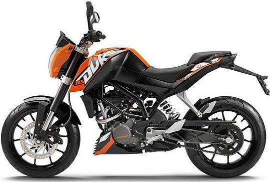 KTM Duke 200 India