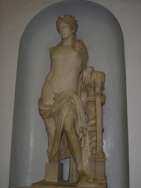 Posąg w Muzeum Bardo