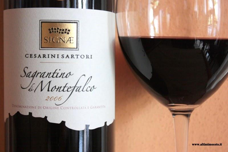 итальянское вино Сагрантино ди Монтефалько