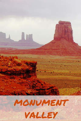 Travel the World: Monument Valley in Utah is a collection of orange-red sandstone formations which are the backdrop for many Hollywood movies.