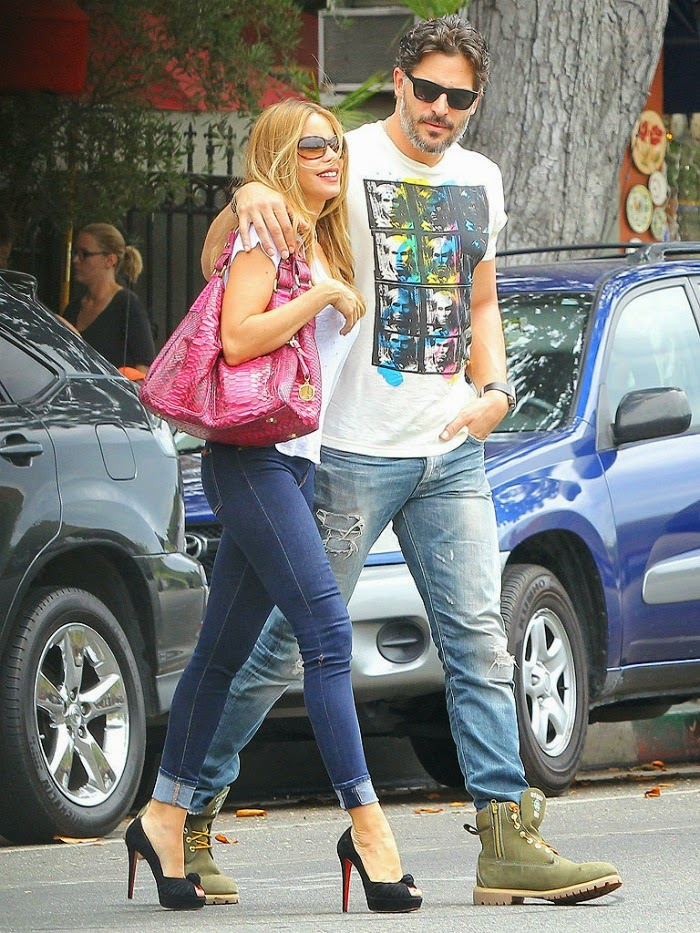 Sofia Vergara & Joe Manganiello in Los Angeles