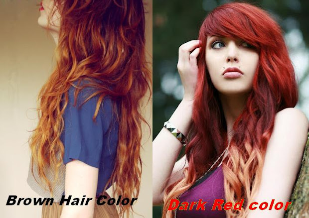 red hair color fashion