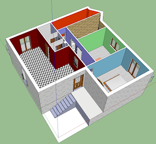 Art shok breve guida su google sketchup for Case in 3d programma