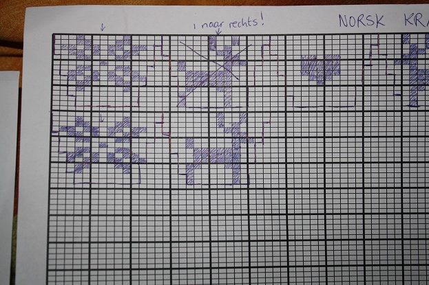 Knitting Design Graph Paper : Knitting for your home make a design of own
