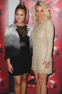 Demi Lovato See-Thru Dress