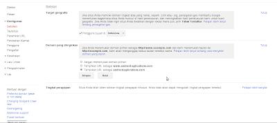 Foto webmaster google tools