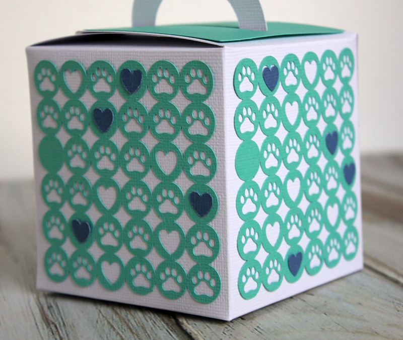 Puppy Treat Container by Samantha Taylor Guest Designing for 17turtles Digital Cut Files