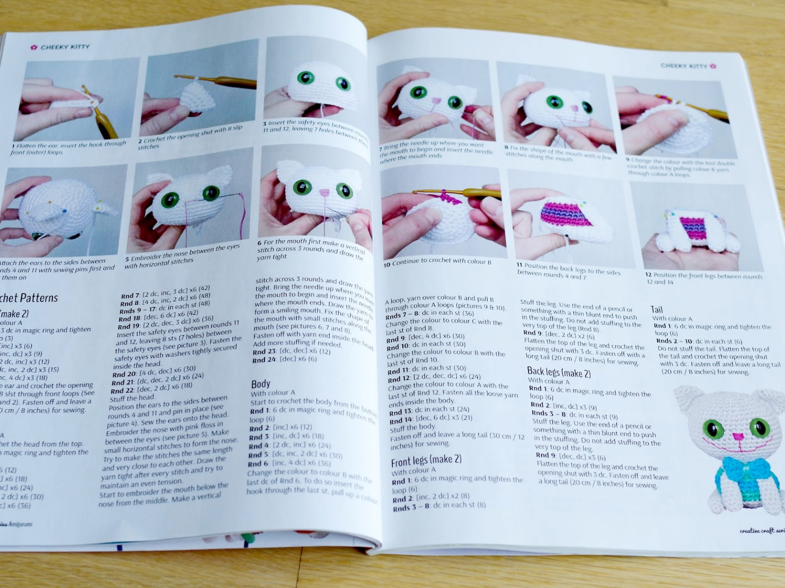 Amigurumi Basic Patterns : Smartapple creations amigurumi and crochet amigurumi bookazine