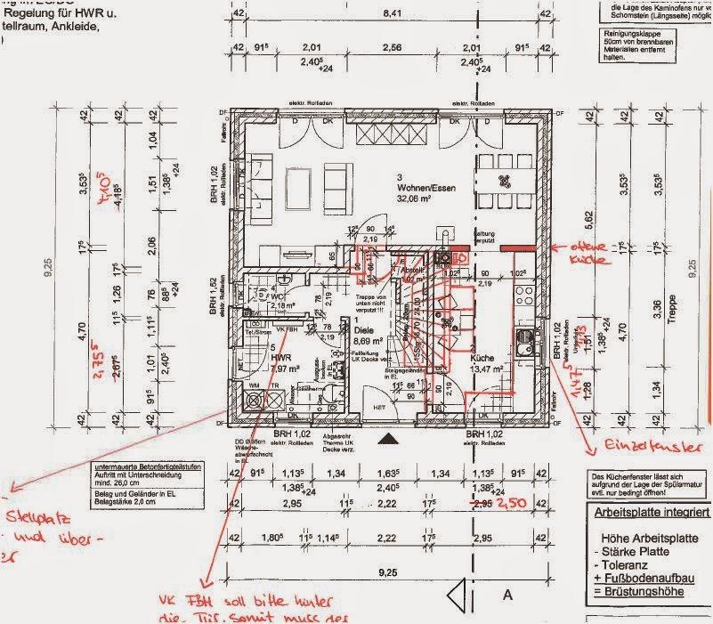 Ausserdem Haben Wir Im HWR Die Anordnung Des Equipments Und Ein Paar Fenstergrossen Gesamten Haus Verandert Oberen Bad Auch Schon