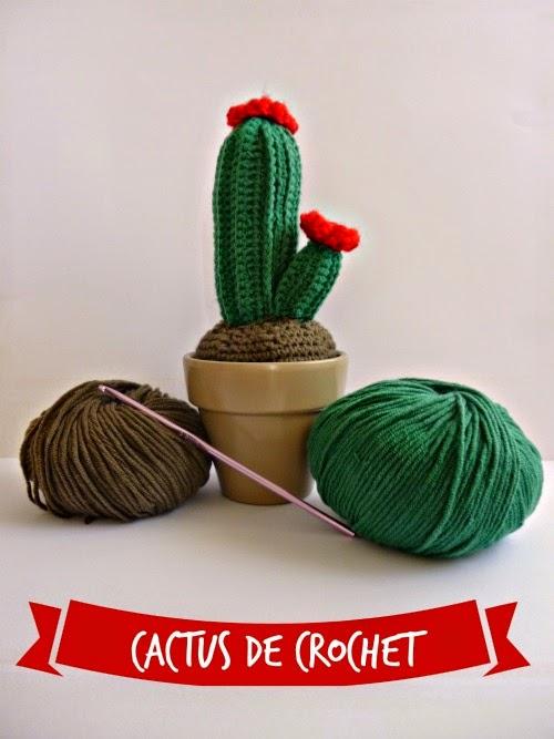cactus de crochet amigurumi