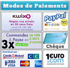 Nos Moyens de paiements