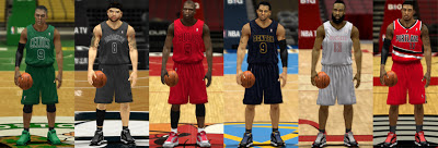 NBA 2K13 Fix White Missing Christmas Jerseys