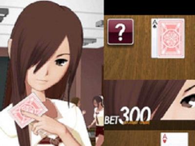 anime girl Strip the game