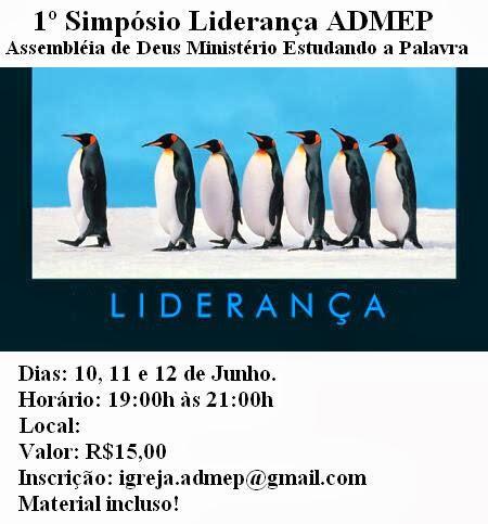 SIMPÓSIO DE LIDERANÇA