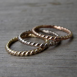 stacking wedding bands