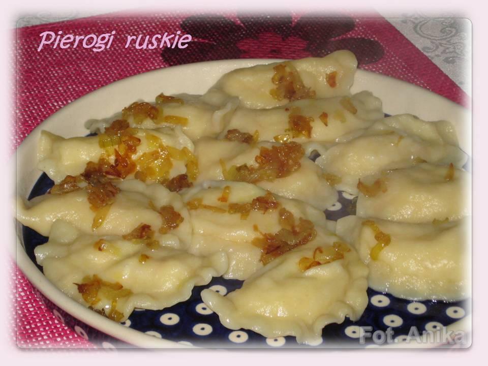 Domowa kuchnia Aniki: Pierogi ruskie