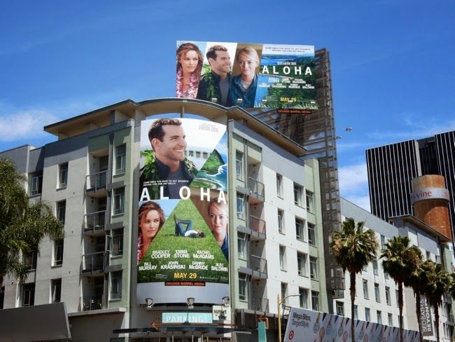 Aloha movie billboards