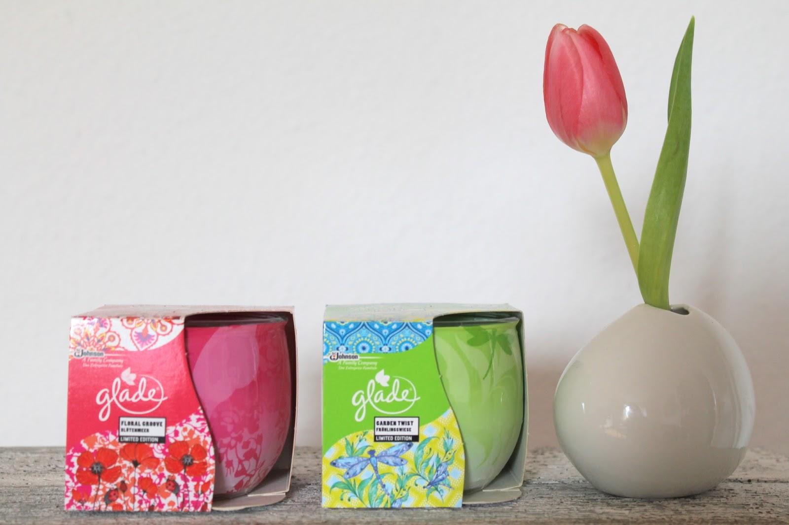 Glade Duftkerzen Fruehling Tulpe