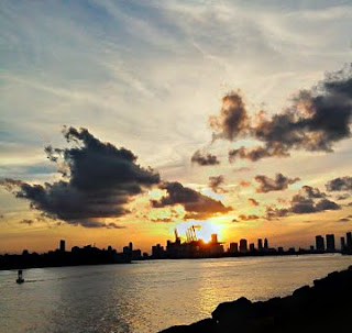 Miami Harbor Sunset