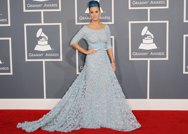 katy perry grammys 2012 red carpet